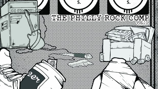 The Philly Rock Comp Vol.1 Cover